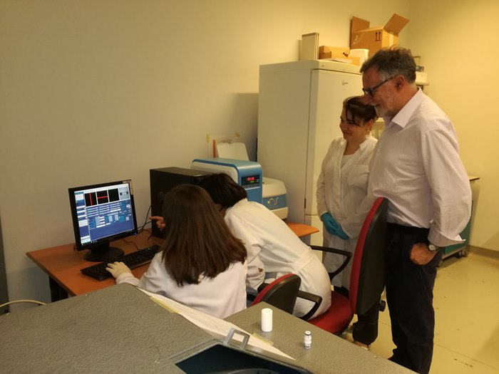 MiniEDU20 MRI Instrument for training students available at the Center of Molecular Imaging of Torino University