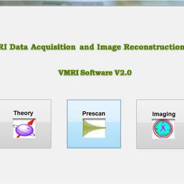 EduVMR Virtual Educational MRI System Training NMR Software